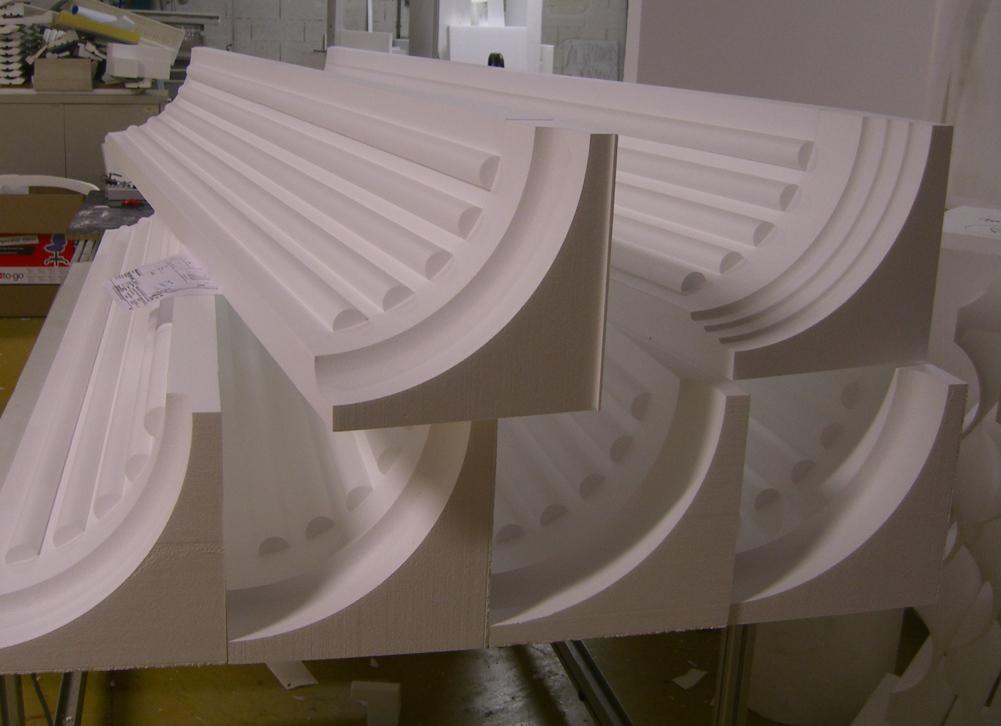 Coffrage polystyr ne pour colonnes compl te avec - Colonne en platre pour decoration interieure ...