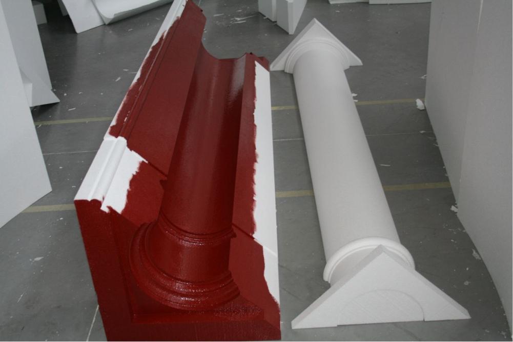 coffrage polystyr ne pour colonnes compl te avec. Black Bedroom Furniture Sets. Home Design Ideas
